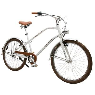 Rower miejski BOTTECCHIA Urban Town 3B Biały mat