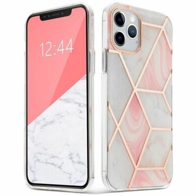 Etui TECH-PROTECT AirMarble do Apple iPhone 12 Pro Max Różowy