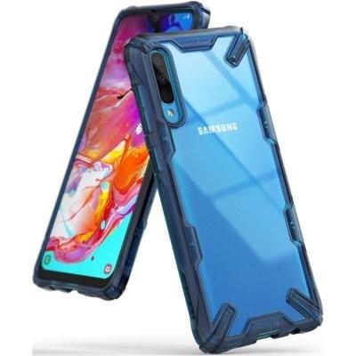 Etui RINGKE Fusion X do Samsung Galaxy A70 Niebieski