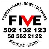 """Logo firmy """"FIVE"""" Kserokopiarki-Drukarki"""
