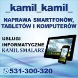 Logo firmy _kamil_kamil_ NAPRAWA SMATRFONÓW, TABLETÓW I KOMPUTERÓW KAMIL SMALARZ