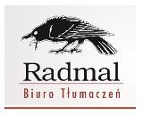Logo firmy Biuro Tłumaczeń RADMAL