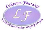 Logo firmy Lukrowe Fantazje torty artystyczne