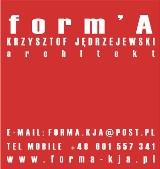 Logo firmy Form'A Krzysztof Jędrzejewski Architekt