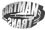 Logo firmy BARTMAN-TRANS Przeprowadzki Transport Auto Wypożyczalnia