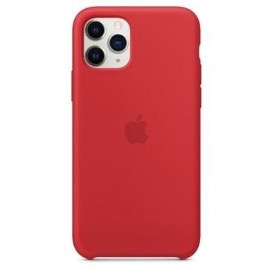 Etui APPLE Silicone Case do iPhone 11 Pro Czerwony