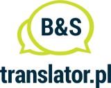 Logo firmy translator.pl Biuro Tłumaczeń B&S