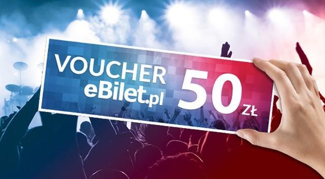 Karta podarunkowa eBilet.pl - Nominał 50 PLN