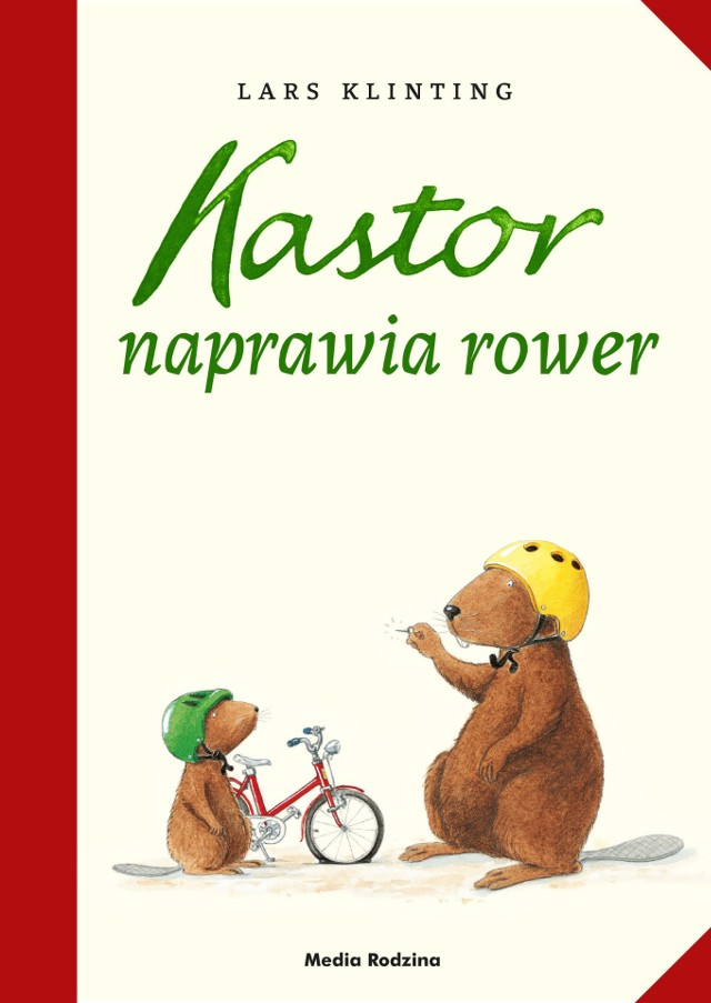 Kastor naprawia rower Lars Klinting