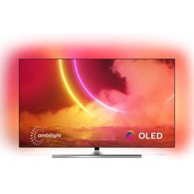 Telewizor PHILIPS 65OLED855/12. Klasa energetyczna B