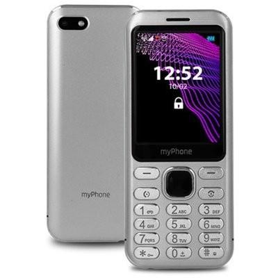 Telefon komórkowy MYPHONE Maestro Srebrny