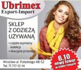 """Logo firmy Iwona Chodara """"Ubrimex"""" Eksport-Import Chodara Iwona"""