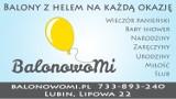 Logo firmy BalonowoMi- Balony z helem na każdą okazję.