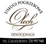 Logo firmy Usługi Pogrzebowe Olech