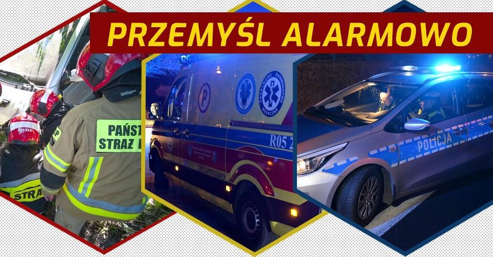 Przemyśl Alarmowo - służby ratunkowe w akcji