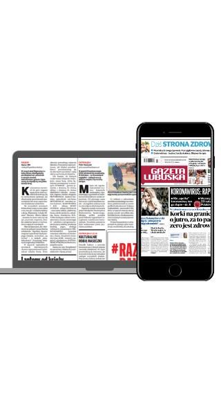 Wypróbuj prenumeratę cyfrową i czytaj gazetę bez wychodzenia z domu.