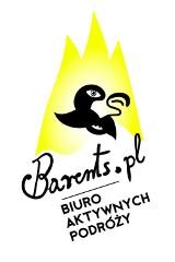 Logo firmy Barents.pl - biuro aktywnych podróży