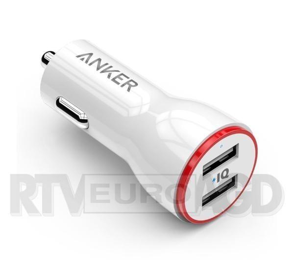 Anker PowerDrive 2 (biały)
