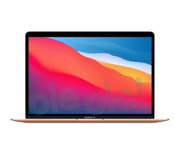 "Apple Macbook Air M1 13,3"" Apple M1 - 8GB RAM - 512GB Dysk - macOS (złoty)"