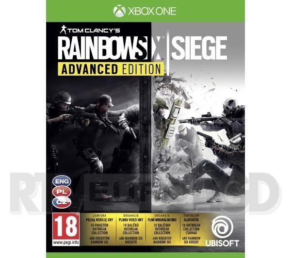 Tom Clancy's Rainbow Six Siege - Edycja Advanced Xbox One / Xbox Series X