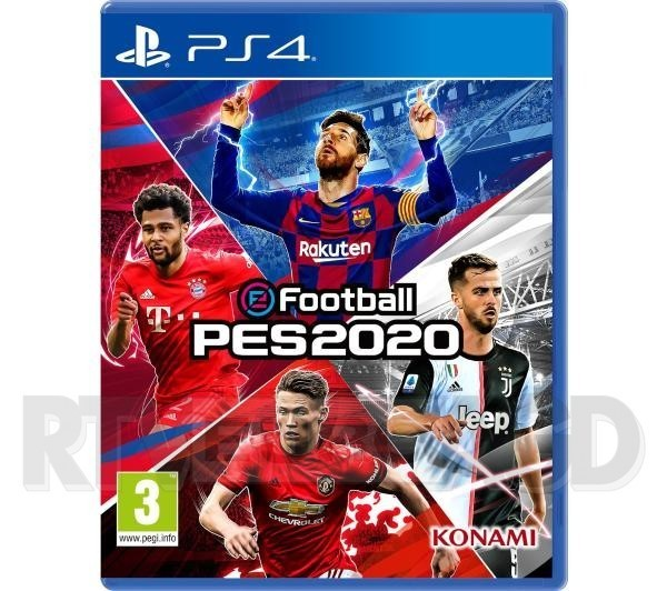 eFootball PES 2020 PS4 / PS5