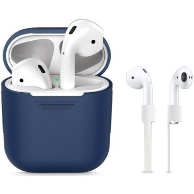 Etui TECH-PROTECT Iconset do Apple AirPods Granatowy