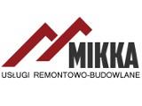 Logo firmy Usługi remontowo-budowlane Mikka Mirosław Karcz