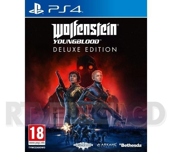 Wolfenstein: Youngblood - Edycja Deluxe PS4