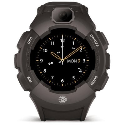 Smartwatch FOREVER Kids Care Me KW-400 Grafitowy