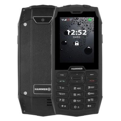 Telefon komórkowy HAMMER 4 Czarny