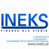 Logo firmy FHU INEKS finanse dla Ciebie