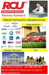 Logo firmy RCU Kubinek Dariusz Ubezpieczenia