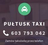Logo firmy Pułtusk TAXI