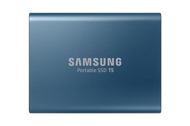 Dysk Samsung SSD T5 MU-PA500B/EU 500GB Blue- Zamów do 16:00, wysyłka kurierem tego samego dnia!