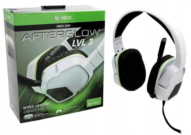 Słuchawki Xbox One Afterglow białe