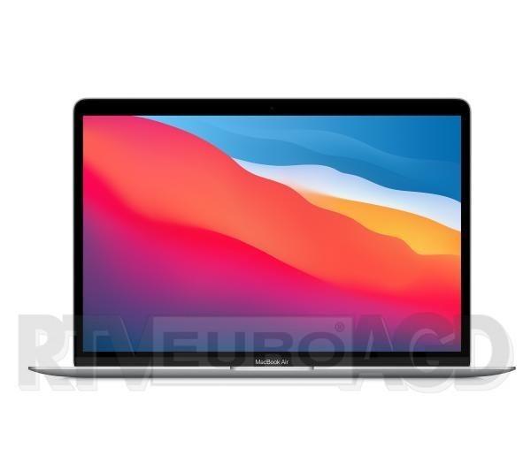 """Apple Macbook Air M1 13,3"""" Apple M1 - 8GB RAM - 512GB Dysk - macOS (srebrny)"""