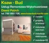 Logo firmy Ksaw-Bud Usługi Remontowo-Wykończeniowe Dawid Pabich