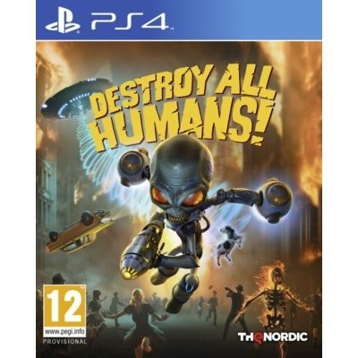 Gra PS4 Destroy All Humans