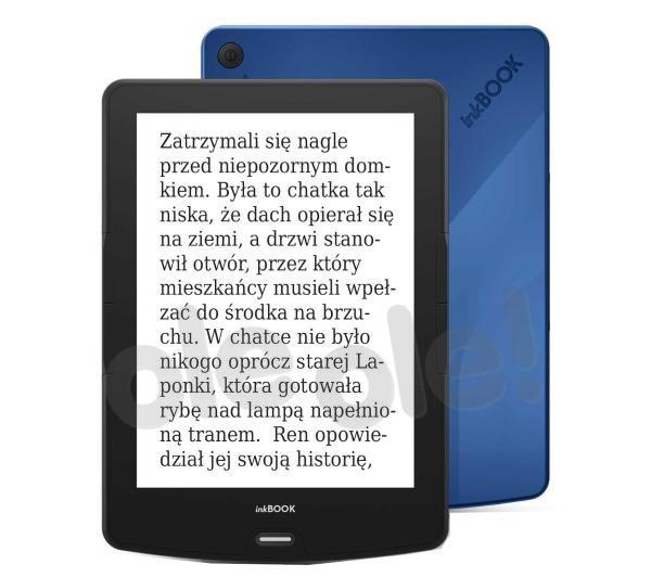 "inkBOOK Calypso 6"" (niebieski) + etui"