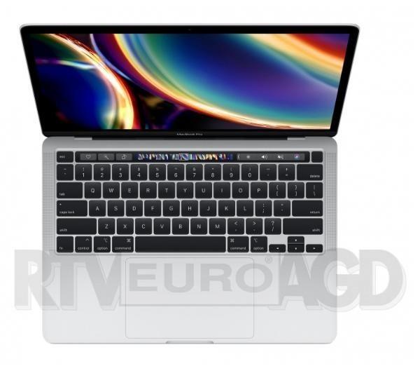 "Apple Macbook Pro 13 2020 z Touch Bar 13,3"" Intel Core i5 - 8GB RAM - 512GB Dysk - macOS (srebrny)"