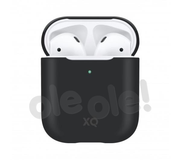 Xqisit AirPods Silicone Case (czarny)