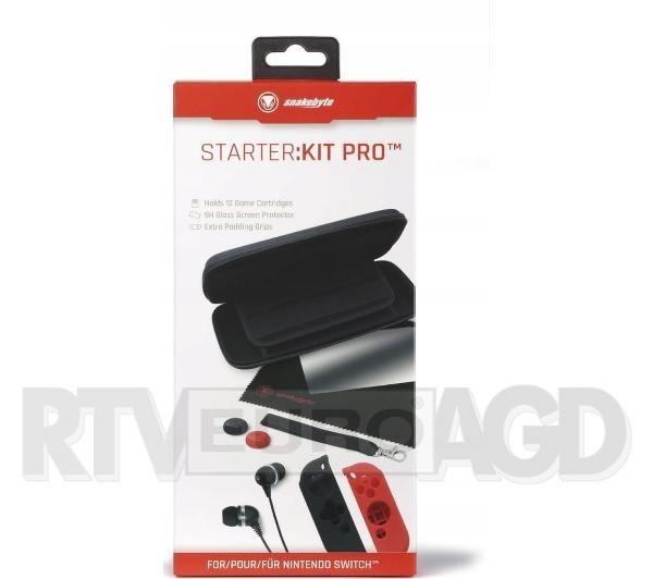 Snakebyte Zestaw akcesoriów Nintendo Switch Starter Kit Pro