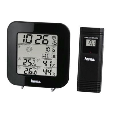 Stacja pogody HAMA EWS-200 Czarny