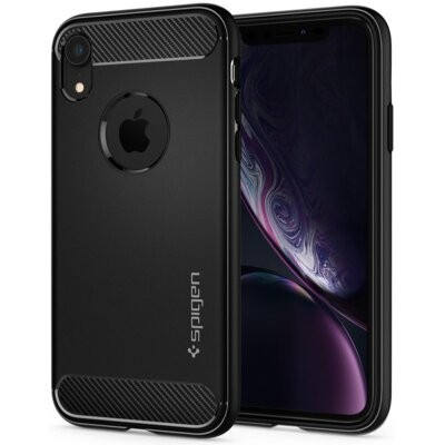 Etui SPIGEN Rugged Armor do iPhone XR Czarny