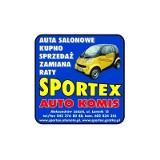 Logo firmy Autokomis Sportex- AUTA SALONOWE
