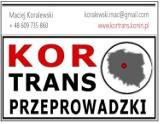 Logo firmy Kor-trans Przeprowadzki Firma Przeprowadzkowa
