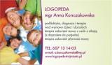 Logo firmy LOGOPEDA mgr Anna Konczakowska