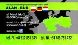 Logo firmy alan bus