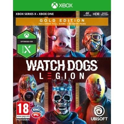 Gra Xbox One Watch Dogs Legion Gold Edition