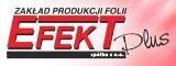 Logo firmy Zakład Produkcji Folii EFEKT PLUS Sp. z o.o.